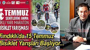 Fındıklı'da Dağ Bisiklet Yarışması Yapılacak