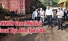 Genel Müdür ALİM;Çaykur Işıklı Çay Fabrikası'nda incelemelerde bulundu