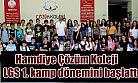Hamdiye Çözüm Koleji  LGS 1. kamp dönemini başlattı