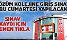 Hamidiye Çözüm Koleji Giriş Sınavı Bu Cumartesi Yapılacak