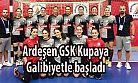 Hentbolda kadınlar Türkiye Kupası 1. Tur maçları başladı.