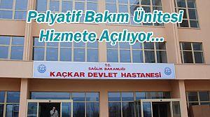 Kaçkar Devlet Hastanesi bölgeye yeni bir hizmet daha!