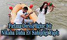 Karadeniz'de Rafting Botuyla Nikaha Gelen Çift İlgi Odağı Oldu