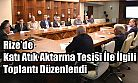 Katı Atık Aktarma Tesisi İle İlgili Toplantı Düzenlendi