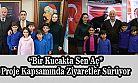 Merkez Fatih İlkokulunun Bir Kucakta Sen Aç Projesi Ziyaretleri Sürüyor