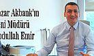 Pazar Akbank'ın Yeni Müdürü Abdullah Emir