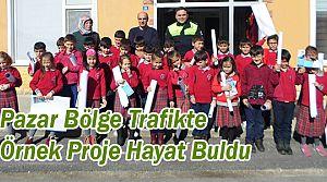Pazar Bölge Trafikten Öğrencilere Trafik Eğitimi