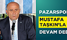 Pazarspor Kulübü Başkanlığına Mustafa Taşkın yeniden seçildi