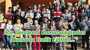 Seslikaya Ziya Okutan İlköğretim Okuluna Trafik Dersi