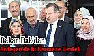 Spor Bakanı Bak'dan Ardeşen'deki Kermese Destek Ziyareti