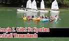 Su Sporları Festivalinde Kano, Yelken ve Raftingciler Yarıştı.