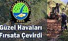 Tunca Belediyesi Güzel Havaları Fırsata Çevirdi