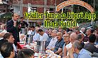 Vekiller Tunca'da açılış yapıp İftara Katıldı