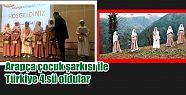 Arapça çocuk şarkısı ile Türkiye...