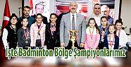 Ardeşen Alparslan Orta Okulunun Badminton