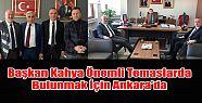 Ardeşen Belediye Başkanı Avni Kahya Ankara'ya
