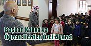 Ardeşen Belediye Başkanına Çocuklardan
