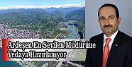 Ardeşen Mal Müdürü Osman Malkoç Trabzon'a