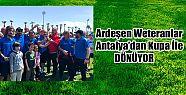 Ardeşen Veteranlar Takımı Antalya'dan