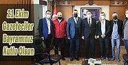 Ardeşen'de Görev Yapan Basın mensuplarından