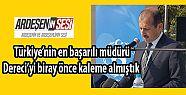 Ardeşen'li Müdür Feyzullah Dereci Türkiye'nin