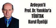 Ardeşen'li Prof. Dr. Cengiz Yanıklar'a