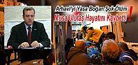 Arhavi Eski Belediye Başkanı Musa Ulutaş