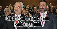 CHP Ardeşen'de İlçe Başkanı Faruk...