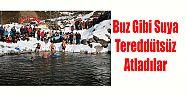Kış Yüzme Şenliği Güzel Karelere Sahne