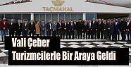 Rize Valisi Kemal Çeber, Turizmcilerle