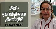 Rize'de çocuk alerji uzmanı göreve