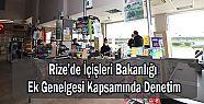 Rize'de İçişleri Bakanlığı Ek Genelgesi