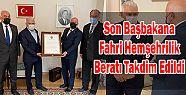 Son Başbakana Fahri Ardeşenli Hemşehrilik
