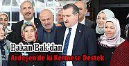 Spor Bakanı Bak'dan Ardeşen'deki Kermese