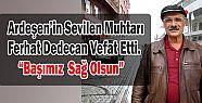 Yavuz Selim Mahallesi Muhtarı Ferhat Dedecan