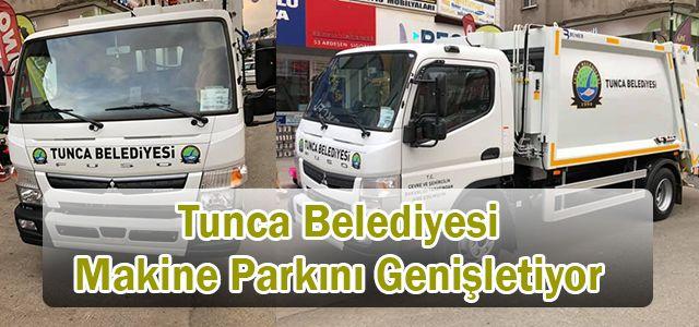 Tunca Belediyesi Makine Parkına Yeni Bir Araç Daha Ekledi.