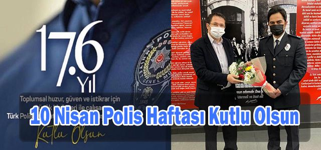 Türk Polis Teşkilatı'nın 176. Kuruluş Yıldönümü Ardeşen'de de Unutulmadı