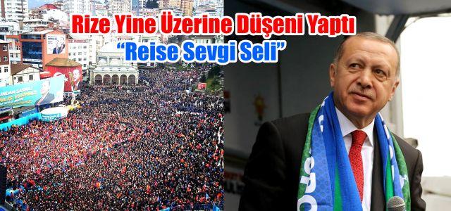 Türkiye Cumhurbaşkanı ve AK Parti Genel Başkanı Recep Tayyip Erdoğan Memleketi Rize'de Konuştu