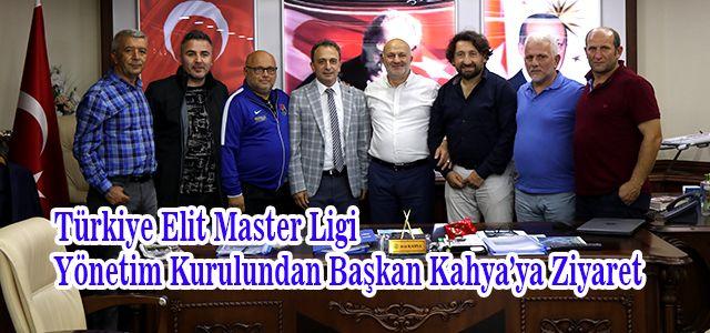 Türkiye Elit Master Ligi Yönetiminden Ardeşen Belediye Başkanına Özel Ziyaret