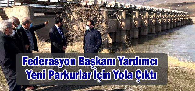 Türkiye Rafting Federasyon Başkanı Fikret Yardımcı Doğu Anadolu Bölgesine Keşfe Çıktı