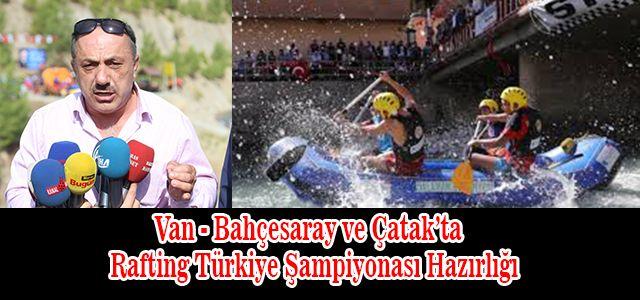 Türkiye Rafting Federasyonu Doğu ve Güneydoğu İçin Startı Verdi