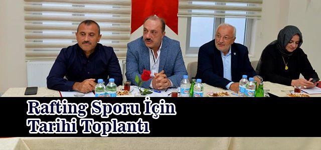 Türkiye Rafting Federasyonunun İlk Yönetim Kurulu Toplantısı Tamamlandı