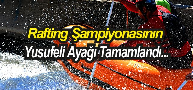 Türkiye Rafting Şampiyonasının ikinci ayağı tamam