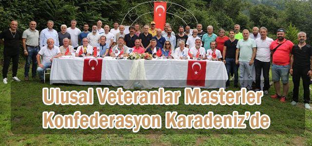 Ulusal Veteranlar Masterler Konfederasyon Karadeniz'de Bir Araya Geldi.