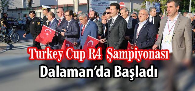 Uluslararası Katılımlı R4 Turkey Cup Başladı
