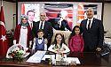 Başkan Gültekin 23 Nisan Dolayısıyla Koltuğu ve tüm yetkilerini sembolik olarak devretti