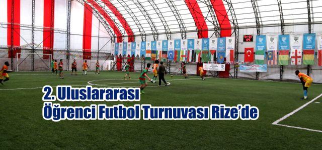 Vali Çeber, 2. Uluslararası Öğrenci Futbol Turnuvası Final Maçını İzledi